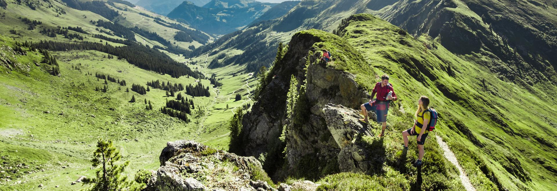 Wandern/Hiking in Saalbach Hinterglemm