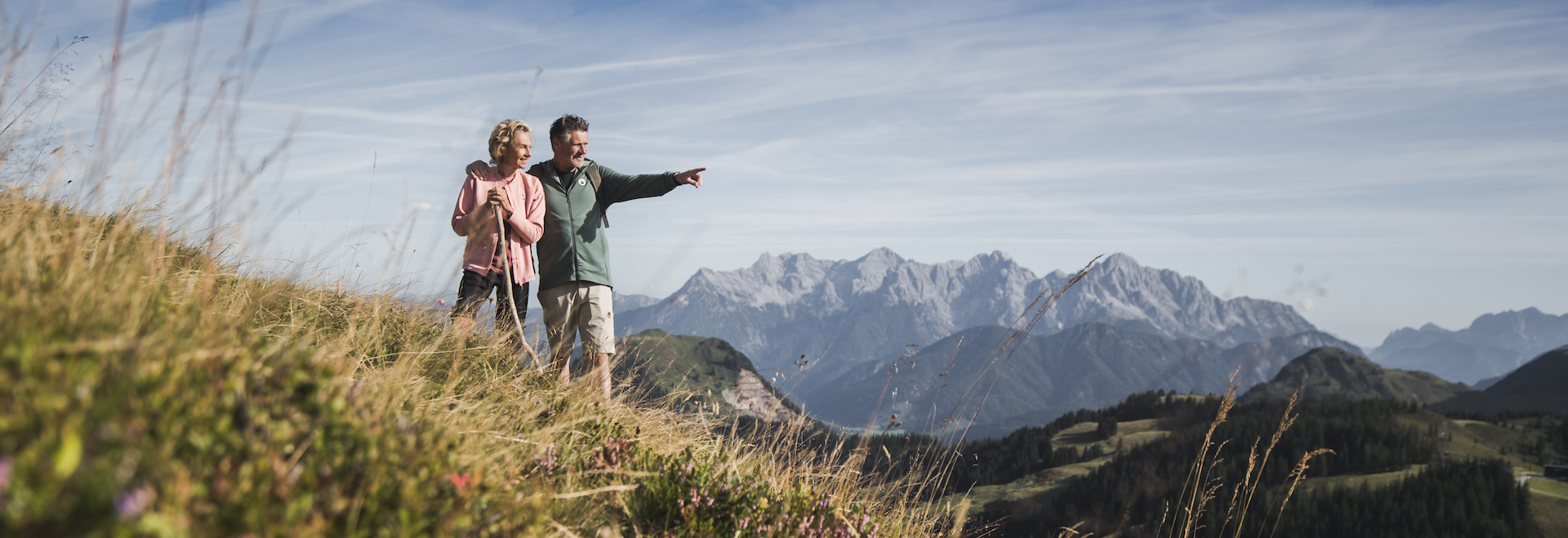 Wandern/Hiking in Saalbach Hinterglem