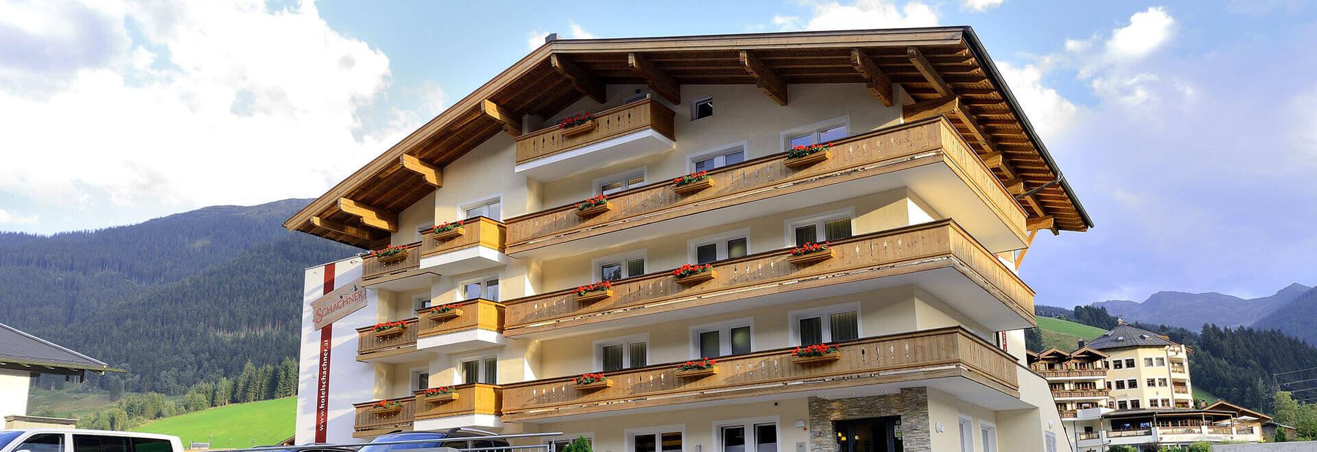 Sommer inm Hotel Schachner