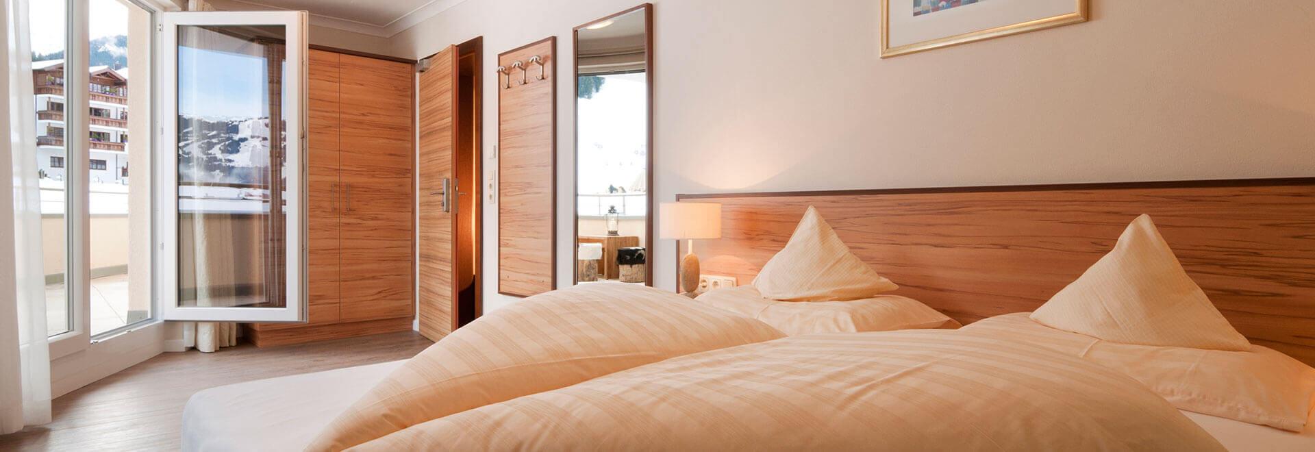 Zimmer/Rooms in Hotel Schackner
